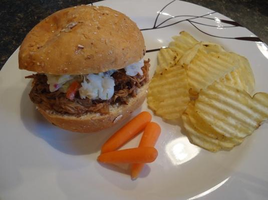 Dr. Pepper Pulled Pork Sandwiches | myRecipeCupboard
