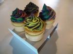 Rainbow Cupcake Cones
